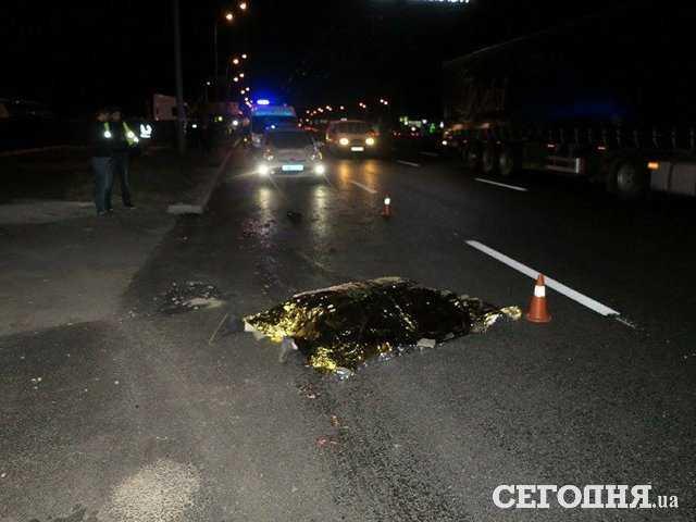 От головы ничего не осталось !!! Смертельное ДТП в Киеве, зрелище не для слабонервных