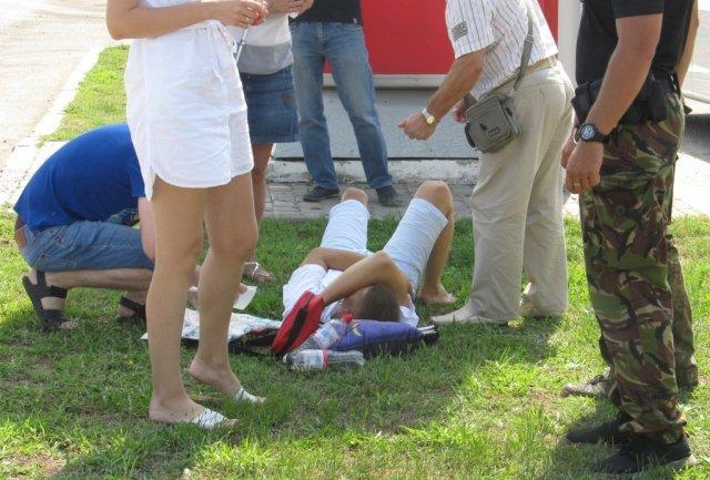 «От удара он перевернулся…» Ужасное ДТП на объездной Ужгорода. Там такое творилось (ФОТО)