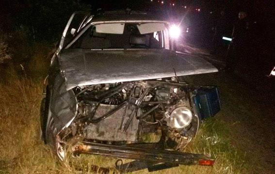 Смертельное ДТП: в Ровенской области авто слетело в кювет, от машины остался один металлолом