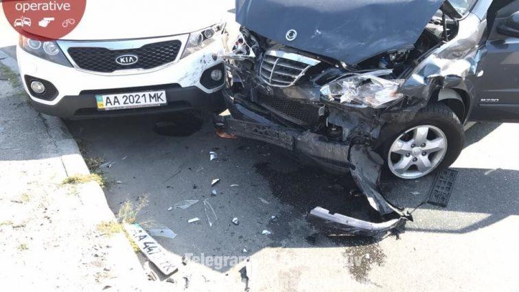 Куча металлолома … Столкнулись шесть автомобилей, такой масштабной ДТП вы еще не видели