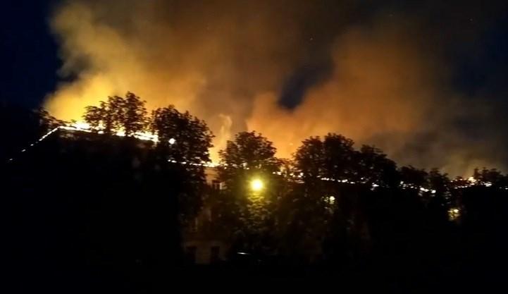 СРОЧНО!!! В Харькове загорелся Апелляционный админсуд, там был настоящий ад