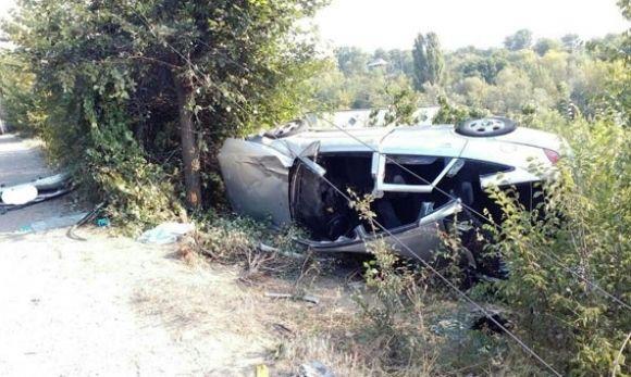 Смертельное ДТП: В Винницкой области машина слетела в кювет, то что осталось даже на металлолом не сдаш