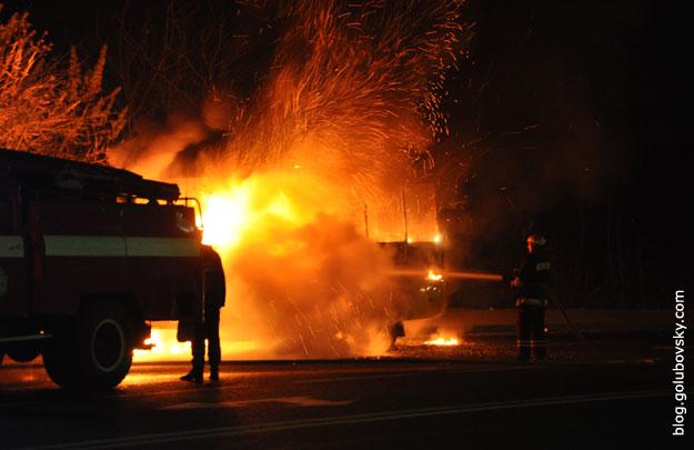 Там был настоящий ад… В центре Луцка вспыхнул страшный пожар, весь город в дыму