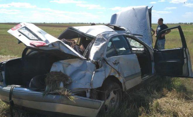 Страшное ДТП! Авто, которое «взорвали», кувыркался и летело 30 метров (ФОТО)