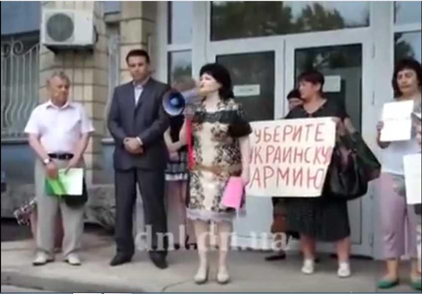Давайте сделаем известной! Сепаратистка возглавила украинскую школу. С этим нужно бороться, максимальный репост