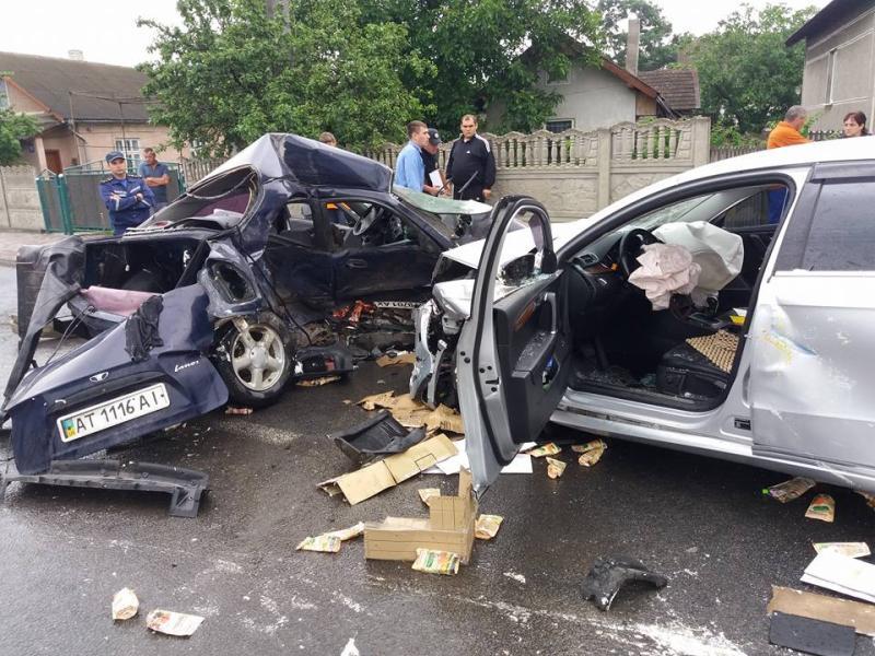 Что там только было… В Киеве произошло страшное ДТП, а все потому, что водитель…