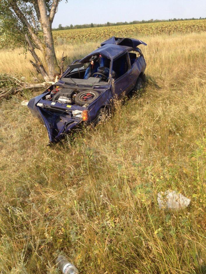 «Трижды перевернулся в воздухе и врезался в дерево»: Страшное ДТП, в котором от автомобиля почти ничего не осталось