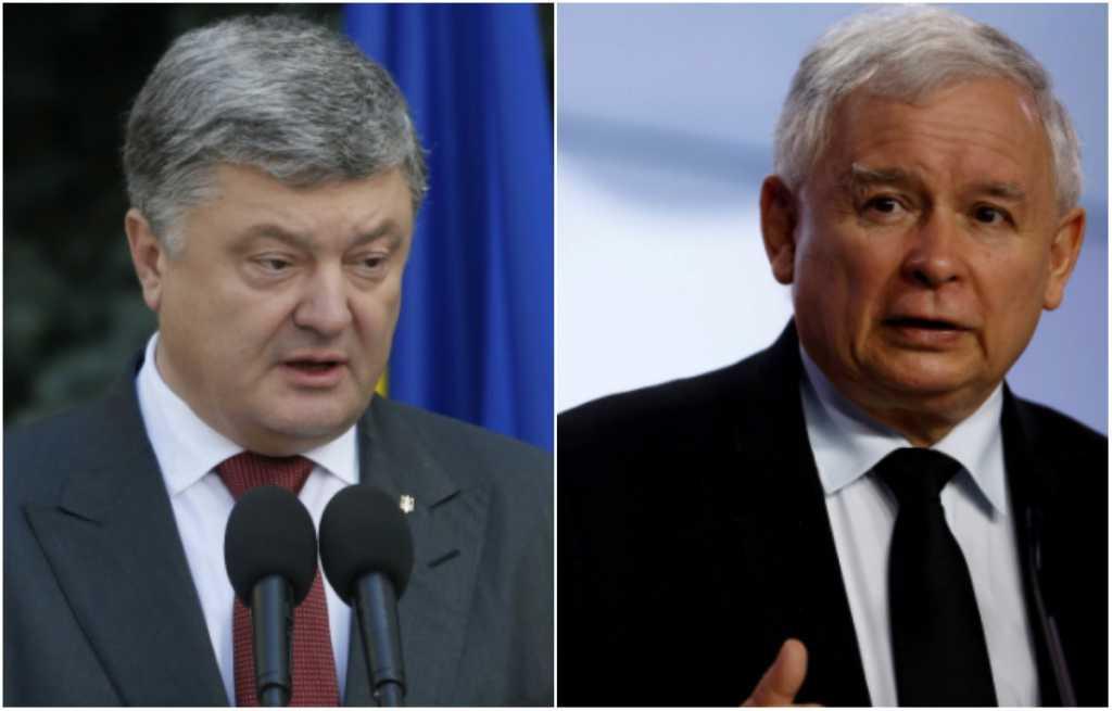 Скандал века: Качиньский обвинил Украину в ТАКОМ… Что же ответил Порошенко