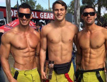 Все женщины этого ждали!!! Красавцы-пожарные разделись, а потом… Только держите себя в руках