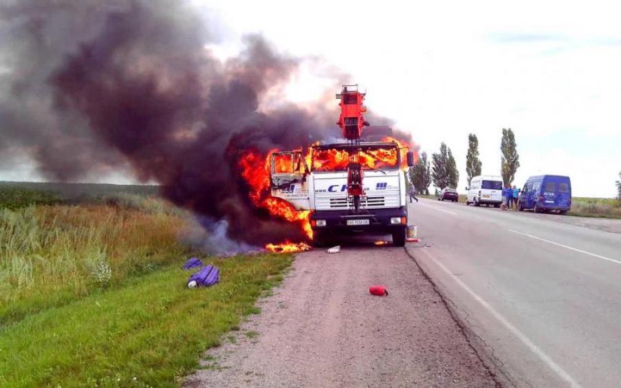 Адская смерть… Под Запорожьем водитель сгорел заживо, а все из-за…