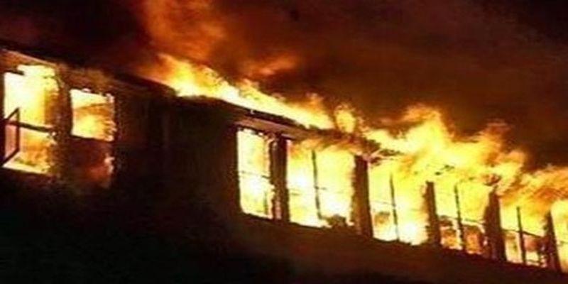 Там был настоящий ад !!! На Львовщине произошел масштабный пожар