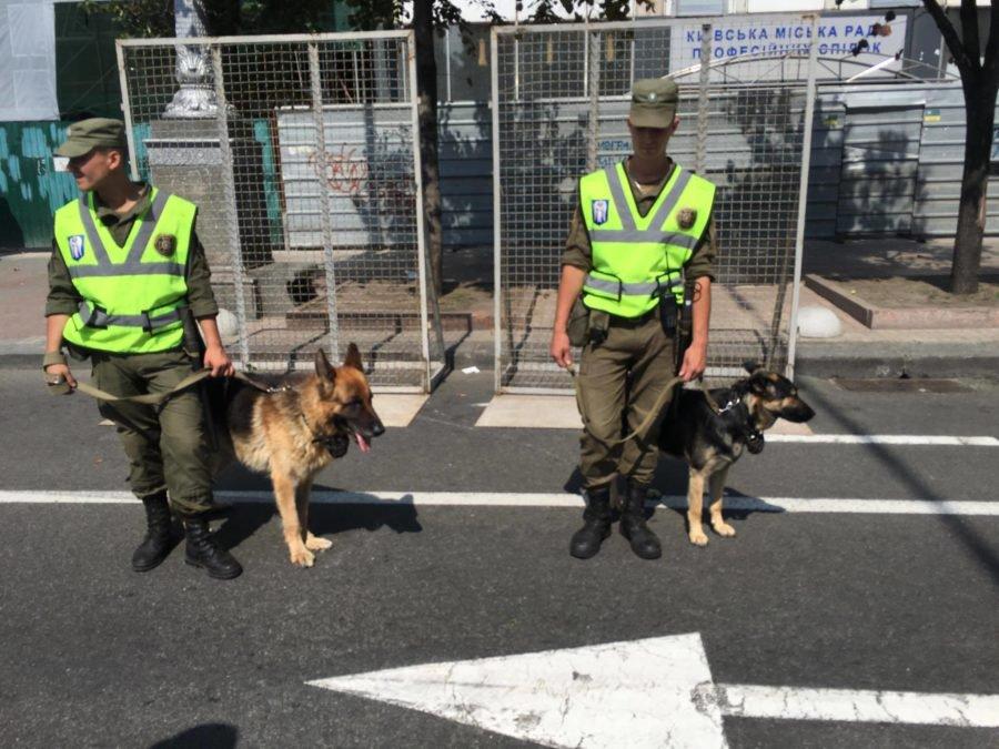 СРОЧНО! Весь Киев стоит. Большое количество правоохранителей, металлоискатели, собаки… А все из-за