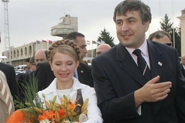 Договорились о таком ….! Тимошенко после тайной встречи с Саакашвили сопровождает его в Украину. Видео из автобуса (ВЖИВУЮ)