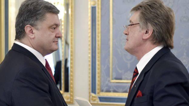 Так еще никто не поздравлял! Поздравления Порошенко с днем рождения от Ющенко поставило на уши Сеть. Вот это да!!!