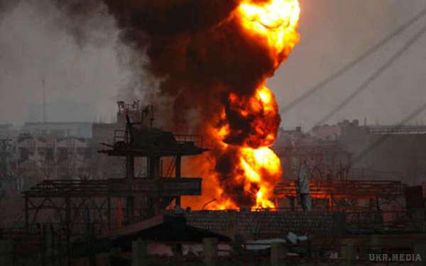 СРОЧНО!!! В Киеве произошел масштабный взрыв, вся столица от него дрогнула