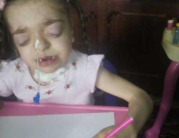 Пережила 4 комы, не может есть и ходить… Маленькая Алиса надеется на вашу помощь