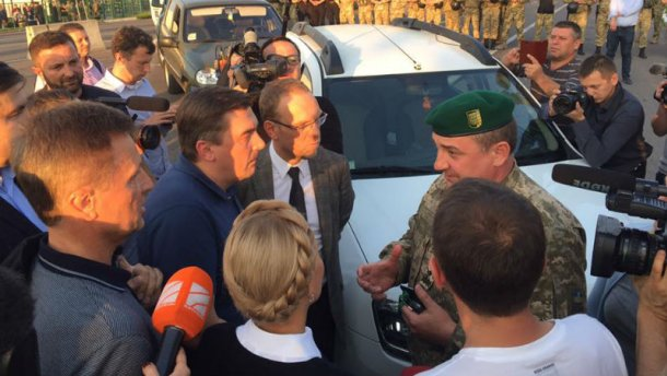 Нелепее не придумаешь! Украинские пограничники объяснили, почему закрыли границу и не пускают Саакашвили