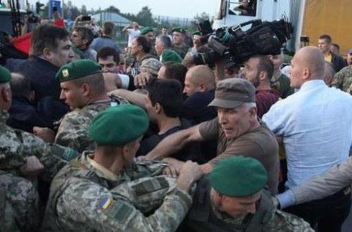 А методы то те же! Задержали еще одного фигуранта «прорыва Саакашвили». То, что ему грозит шокирует!