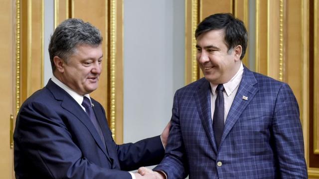 Порошенко предложил Саакашвили такое, что голова кругом идет… Украинцы шокированы этими словами