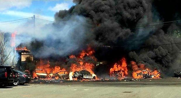 СРОЧНО!!! Под Харьковом произошла страшная авиакастрофа, разбился самолет