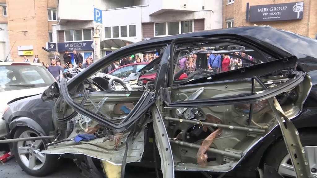 «Все в крови и повреждённая взрывом мать» Стало известно, что произошло с ребенком, который был внутри взорванной в центре Киева машине