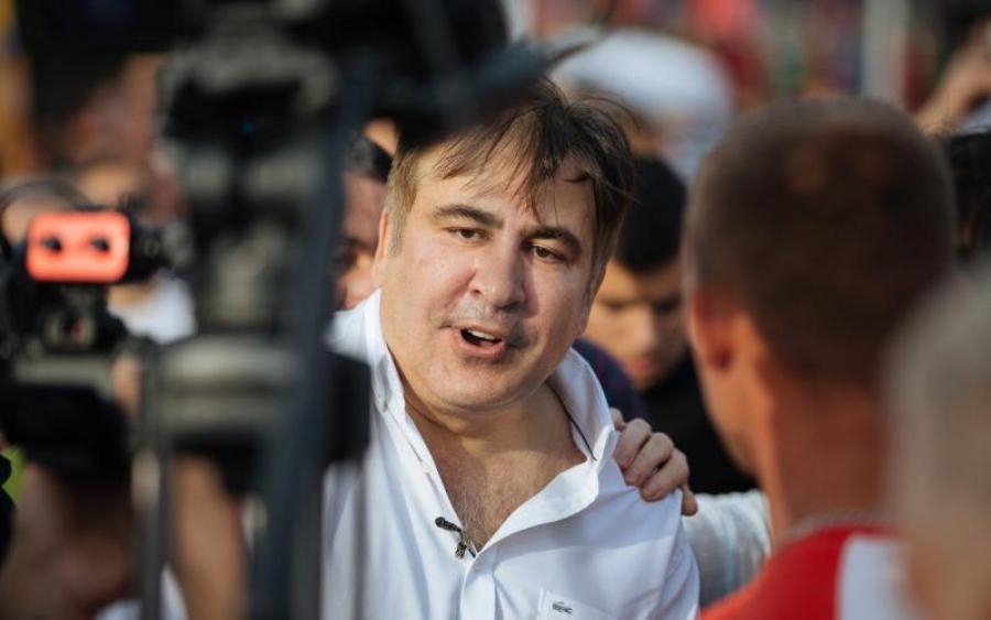 «Сплошная давка» Как в днепровской маршрутке пассажиры «напали» на Саакашвили, а то что произошло потом …