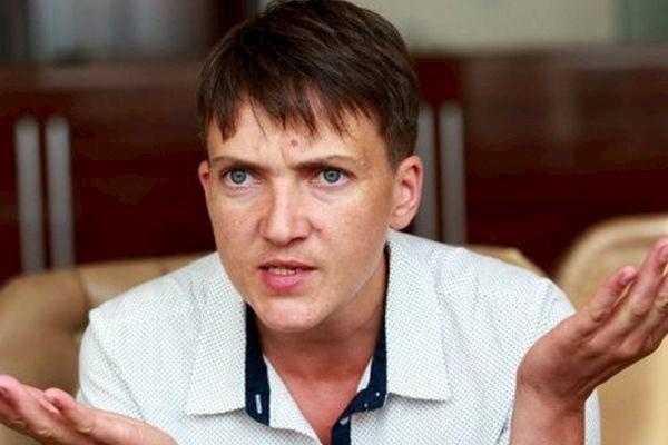 «Мы пожали друг другу руки»: Савченко шокировала украинцев новыми деталями встречи с террористами, да она скоро их фан-клуб создаст