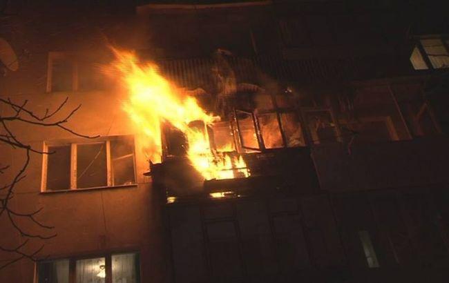 Вспыхнуло через мгновение!!! В Хмельницком произошел страшный пожар в жилом доме