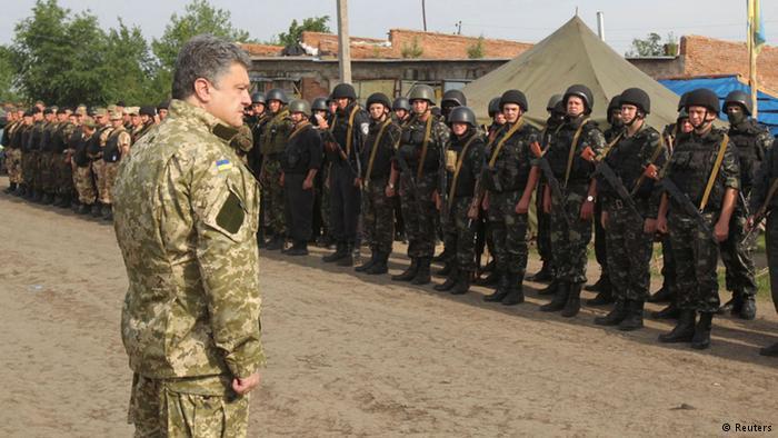 Порошенко совершил визит в АТО: Геращенко сообщила первые детали