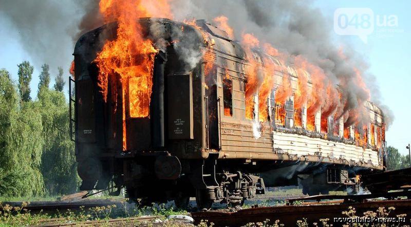 Вагон вспыхнул как спичка! Под Одессой на ходу загорелся поезд с пассажирами. Там творилось АД