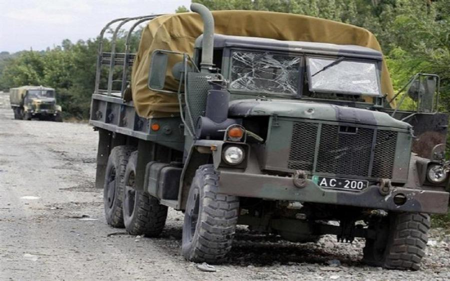На тренировочной военной базе: грузовик протаранил толпу военных. Есть погибшие