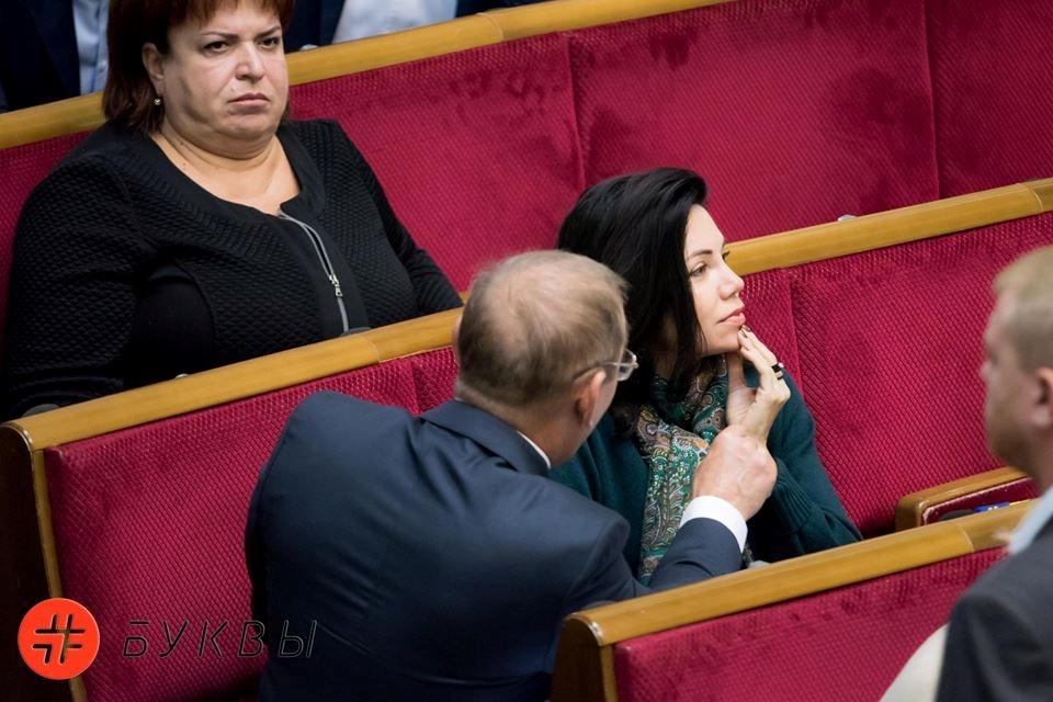 Ревность она такая! С «голодной» скандальной депутаткой в Верховной Раде произошел конфуз, Сюмар теперь не позавидуешьСюмар теперь не позавидуешь