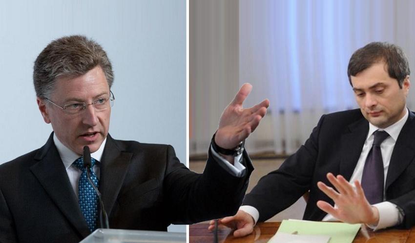 «Строгая секретность»: Стало известно, о чем договорились Сурков и Волкер на тайной встрече в отношении Украины