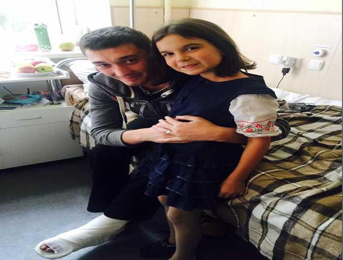 «Как говорится, до слез…»: Дочь известной телеведущей трогательно поздравила бойцов АТО в госпитале