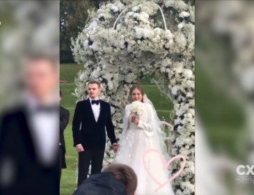Королевская свадьба: Легендарный судья-коррупционер женил сына в старинном австрийском замке, гостей развлекали российские звезды