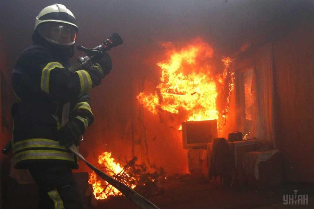 В Хмельницкой области произошел пожар в жилом доме, погибла женщина