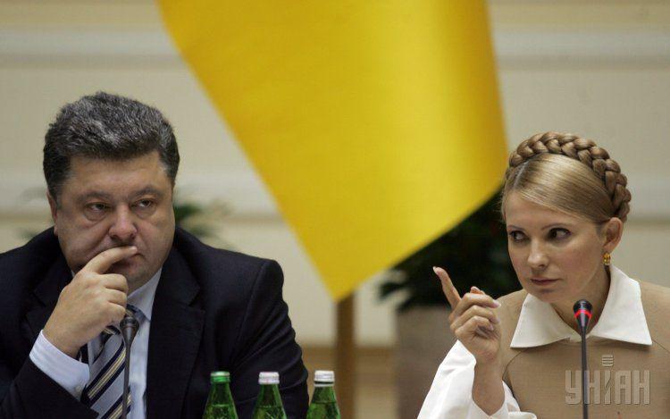 «В первую очередь отрубить руку себе…»: Тимошенко резко высказалась в адрес Порошенко