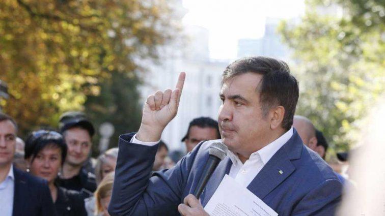 «Мы победим этих барыг…»: Саакашвили прибыл под стены Рады