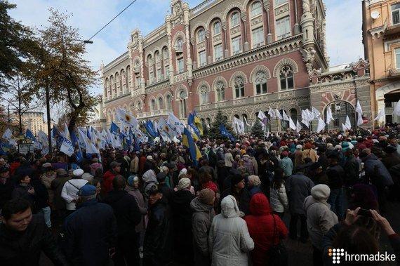 Протест продолжается! Митингующие и отдельные нардепы не собираются расходиться пока не выполнят требования