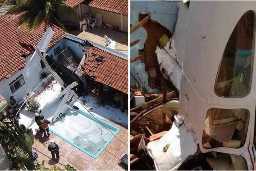 «Прямо на жилой дом в 300 метрах от аэропорта»: Упал самолет, погибли люди