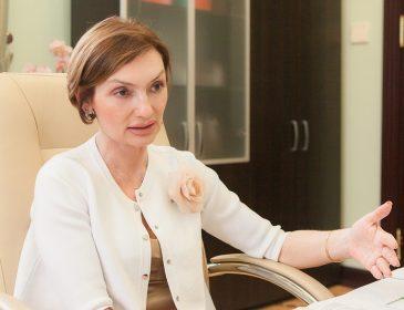 Екатерина Рожкова сообщила, что ПриватБанк продаст здание телеканала «1 + 1» и курорт Буковель