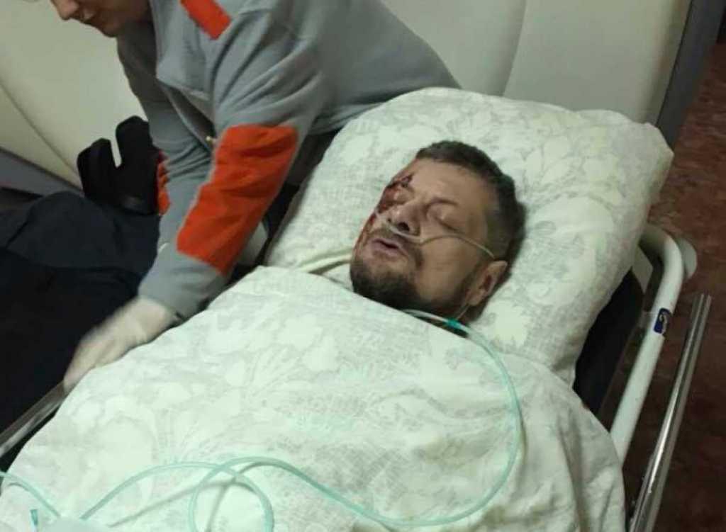 Других раненых оставили на улице: После взрыва Мосийчука увезли на «Лексусе» в частную больницу