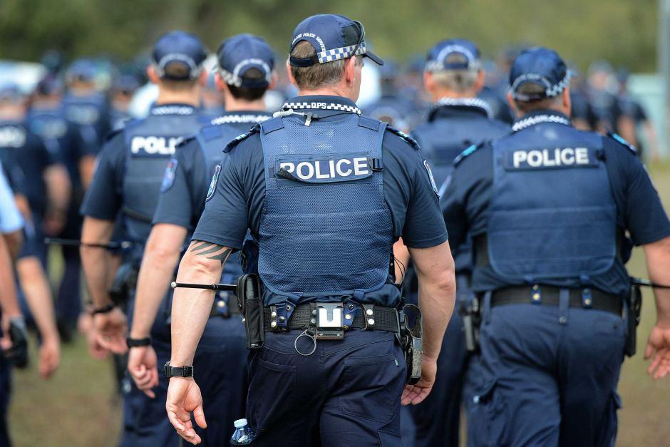 brutal police in australia