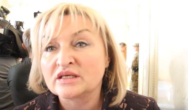 «Винеси козла! Винеси его наф * г»: нецензурные выкрики Ирины Луценко в ВР попали на видео