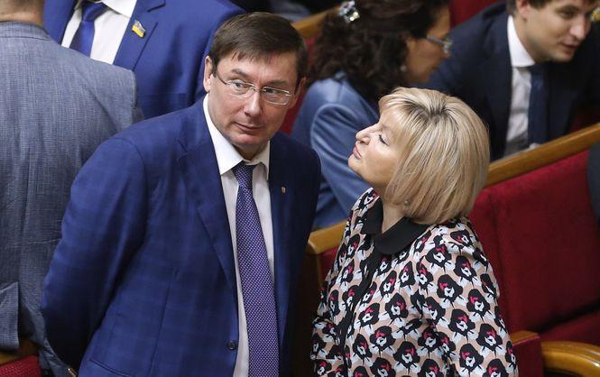 «Ира и козлы»: Луценко эмоционально прокомментировал кардинально изменившееся лицо жены и скандал с ее участием