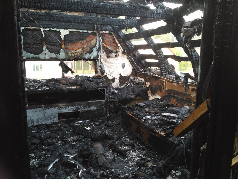 В туристической Ворохте ночью произошел пожар