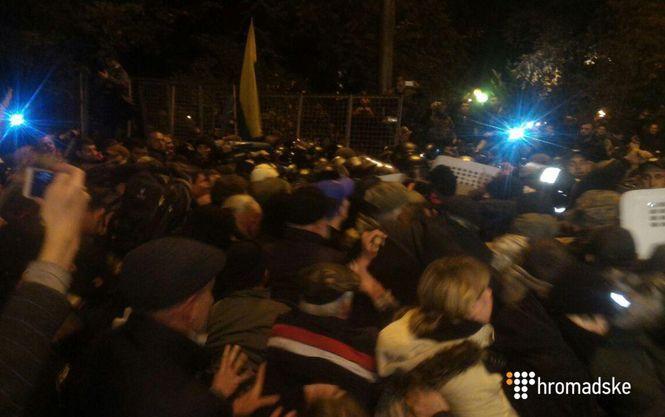 Мустафа Найем сообщил, что происходило сегодня ночью под Радой и рассказал о действиях правоохранителей