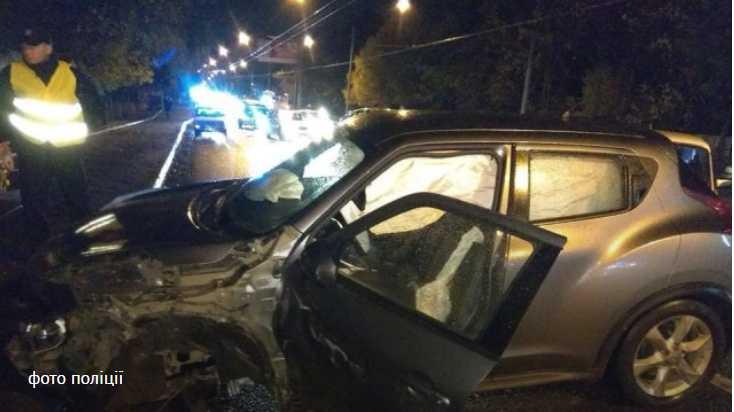 Во Львове на улице Кульпарковской случилась двойная ДТП, есть пострадавшие