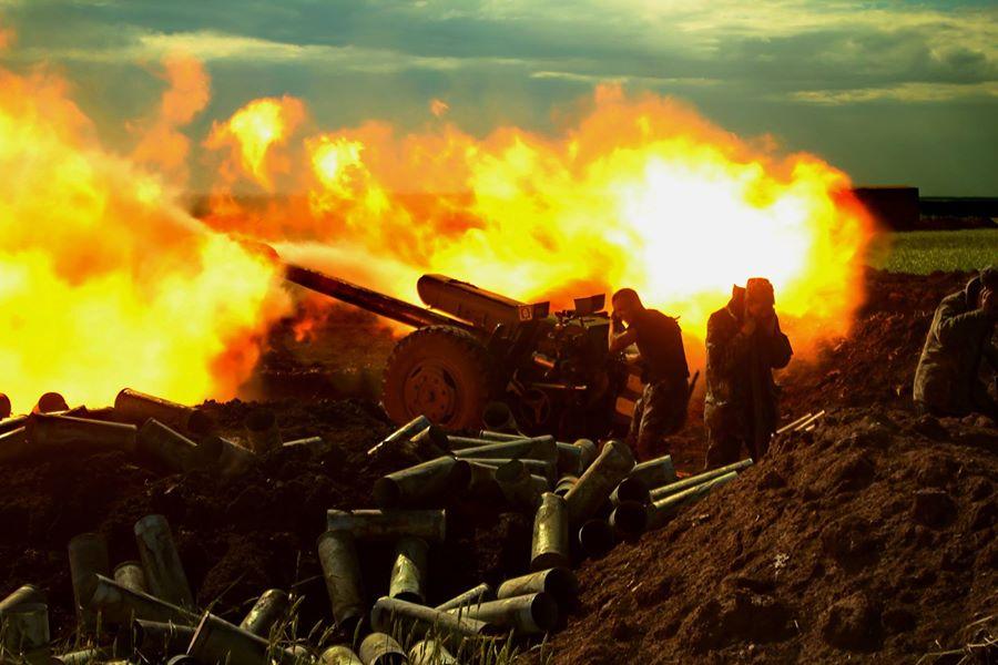 Поливали огнем: Ситуация в зоне АТО обостряется