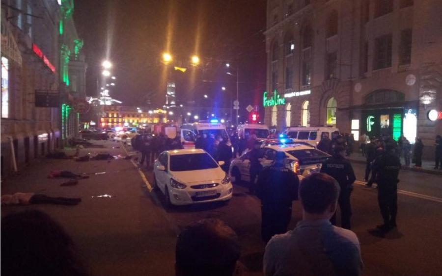 «Машина не наехала, а просто снесла людей»: Геращенко показал детальное видео жуткого ДТП в Харькове